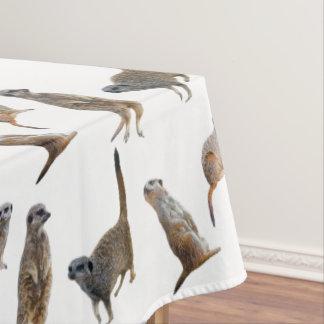 Toalha De Mesa Tablecloth da agitação de Meerkat (escolha a cor)