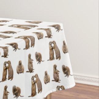 Toalha De Mesa Tablecloth da agitação do cão de pradaria (escolha