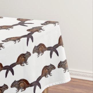Toalha De Mesa Tablecloth da agitação do Chipmunk (escolha a cor)