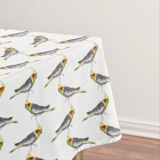 Toalha De Mesa Tablecloth da agitação do Cockatiel (escolha a