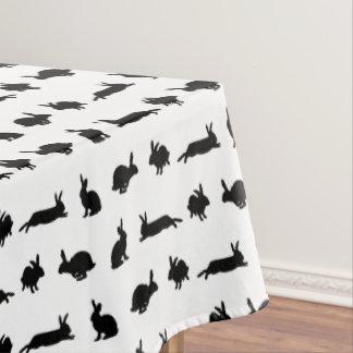 Toalha De Mesa Tablecloth da agitação do coelho (escolha a cor)