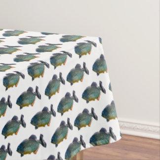 Toalha De Mesa Tablecloth da agitação do Piranha (escolha a cor)