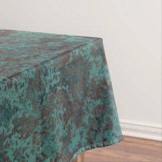 """Toalha De Mesa Tablecloth """"de cobre"""" do impressão da corrosão"""