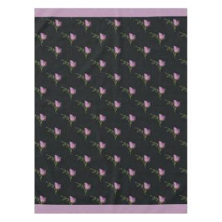 """Toalha De Mesa Tablecloth do algodão dos Rosebuds, 52"""" x70 """""""