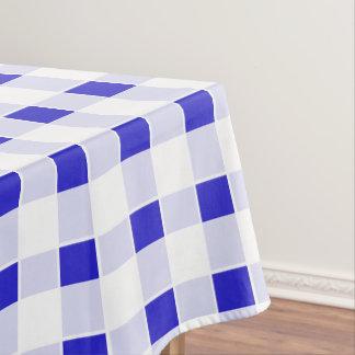 Toalha De Mesa Tablecloth do azul do teste padrão do