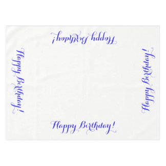 Toalha De Mesa Tablecloth do feliz aniversario