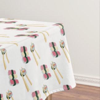 Toalha De Mesa Tablecloth do hipster de Foodie do sushi