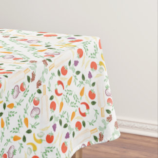 Toalha De Mesa Tablecloth do hipster de Foodie dos vegetarianos e