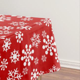 """Toalha De Mesa Tablecloth do inverno dos flocos de neve, 52"""" x70"""