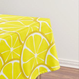 Toalha De Mesa Tablecloth do limão do citrino do verão