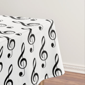 Toalha De Mesa Tablecloth do Musical do Clef de triplo