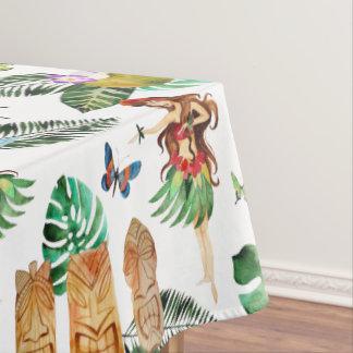 Toalha De Mesa Tablecloth do partido de Tiki
