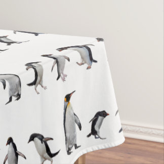 Toalha De Mesa Tablecloth do partido do pinguim (escolha a cor)