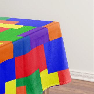 Toalha De Mesa Tablecloth do teste padrão do abstrato dos