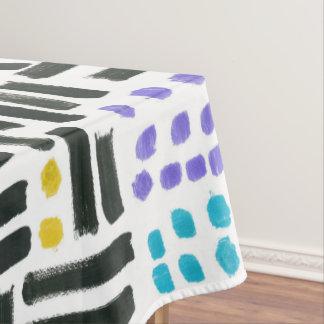 Toalha De Mesa Tablecloth dos Brushstrokes do pop