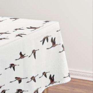 Toalha De Mesa Tablecloth dos flamingos do vôo (escolha a cor)
