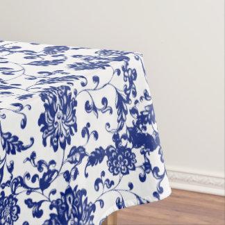 Toalha De Mesa Tablecloth floral azul