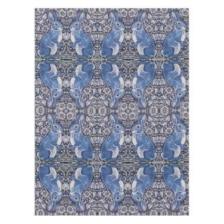 Toalha De Mesa Tablecloth floral de Nouveau da arte do coelho