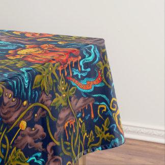 Toalha De Mesa Tablecloth grotesco do jardim