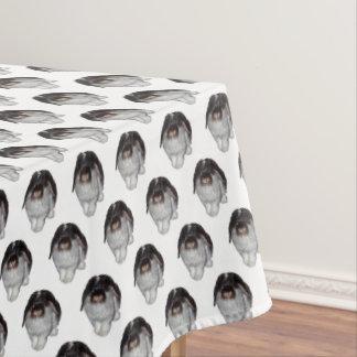 Toalha De Mesa Tablecloth Lop-Orelhudo da agitação do coelho
