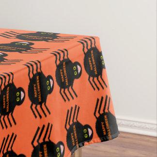Toalha De Mesa Tablecloth preto da aranha do Dia das Bruxas
