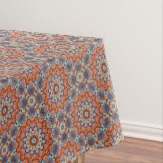 Toalha De Mesa Tablecloth rochoso do caleidoscópio do vintage das