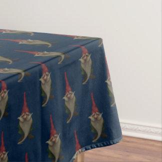 Toalha De Mesa Tablecloth velho do teste padrão do gnomo do Natal
