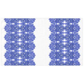Toalha De Mesa Teste padrão a céu aberto no azul-chinoiserie do