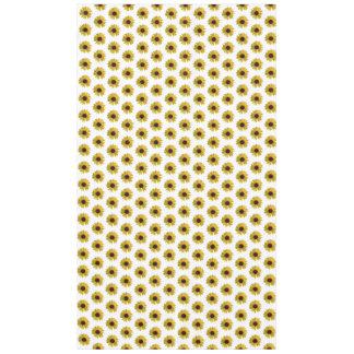 Toalha De Mesa Teste padrão amarelo do girassol