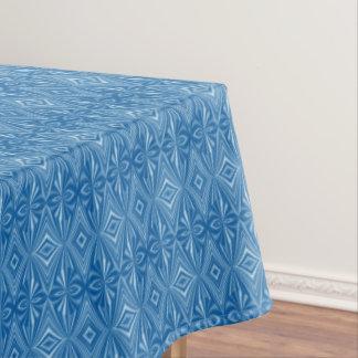 Toalha De Mesa Teste padrão azul original à moda na moda