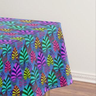 Toalha De Mesa Teste padrão brilhante e colorido 767 da folha