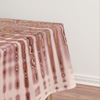 Toalha De Mesa teste padrão cor-de-rosa abstrato do brilho