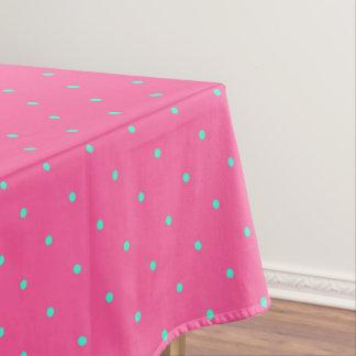 Toalha De Mesa teste padrão de bolinhas elegante bonito da