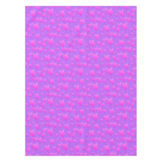 Toalha De Mesa Teste padrão de estrela cor-de-rosa/roxo