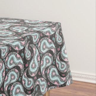 Toalha De Mesa Teste padrão de paisley da fantasia