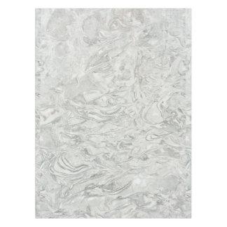 Toalha De Mesa Teste padrão de superfície de mármore cinzento