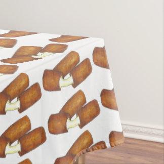 Toalha De Mesa Teste padrão do impressão da comida lixo das varas