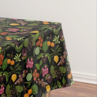 Toalha De Mesa Teste padrão exótico colorido pintado à mão da