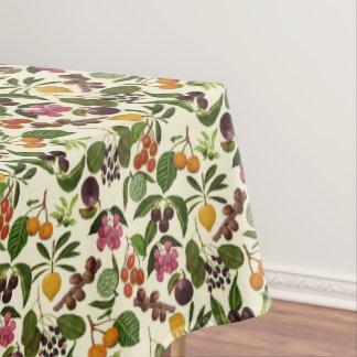 Toalha De Mesa Teste padrão exótico pintado à mão das frutas
