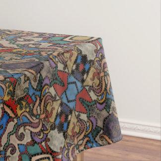 Toalha De Mesa Teste padrão floral abstrato moderno