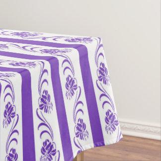 Toalha De Mesa Teste padrão floral das listras
