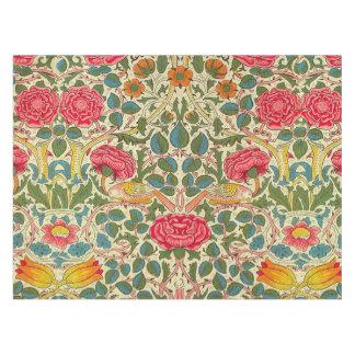 Toalha De Mesa Teste padrão floral de chintz cor-de-rosa do