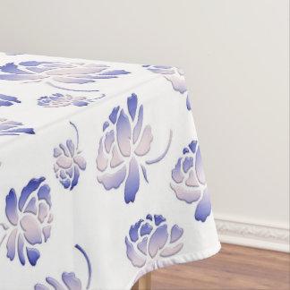 Toalha De Mesa Teste padrão floral retro com rosas