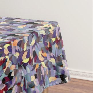Toalha De Mesa Teste padrão moderno colorido da folha