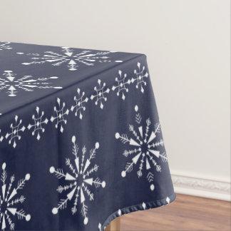 Toalha De Mesa Teste padrão sem emenda dos flocos de neve do