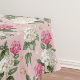 Toalha De Mesa Teste padrão sem emenda floral do Hydrangea