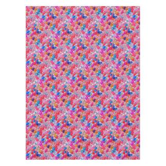 Toalha De Mesa textura colorida das bolas da geléia