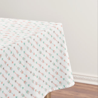 Toalha De Mesa Travesseiro moderno das setas na hortelã e no