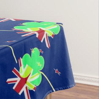 Toalha De Mesa Trevo St Patrick do trevo da bandeira de Nova