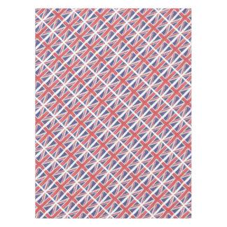 Toalha De Mesa Union Jack de seda de vibração